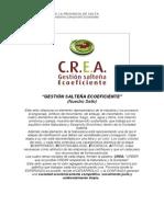 Presentación  Gestión Salteña Ecoeficiente
