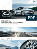 Bmw Accessories Catalogue z4 Old En