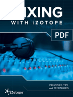 iZotope Mixing Guide Principles Tips Techniques