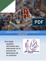 2. FACTORES PRODUCCIÓN INDUSTRIAL. José Antonio e Iván