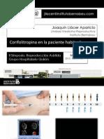 Joaquín Llacer - Corifolitropina en La Paciente Habitual - II Simposio Reproducción Asistida Quirón