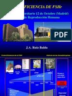José Antonio Ruiz Balda - Coste-Eficiencia de La FSH Recombinante - II Simposio Reproducción Asistida Quirón