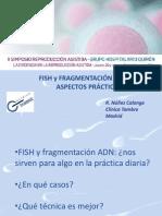 Rocío Núñez - FISH y fragmentacion de ADN -  II Simposio Reproducción Asistida Quirón
