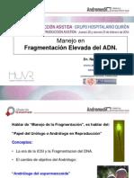 Natalio Cruz - Fragmentación ADN - II Simposio Reproducción Asistida Quirón