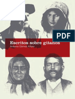 Antonio Gómez Alfaro - Escritos sobre gitanos