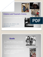 Children and Trauma Events- Understanding a Chaotic World