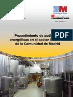 Auditorias Energéticas sector industrial CAM
