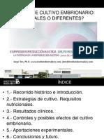 Jorge Ten - Medios de Cultivo Embrionario - II Simposio Reproducción Asistida Quirón