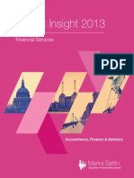 Market Insights 2013 for the Finance Industry
