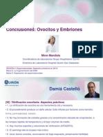Miren Mandiola - Conclusiones ovocitos y embriones - II Simposio Reproducción Asistida Quirón