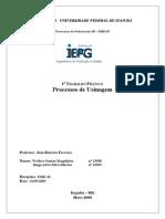 1- Relat-Rio de Usinagem - 13058 - 13932