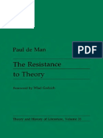 De Man_86_Resistance to Theory