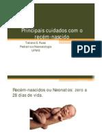 Principais Cuidados Com o Recem-nascido -Pale Russi