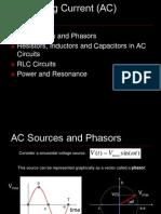 Ch33 AC Circuits