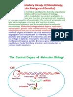 Mol Bio Lecture 1
