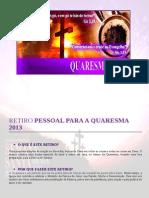Retiro Quaresma 2013