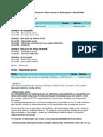 BrT - Manual de Tubulações Telefônicas e Rede Interna em Edificações