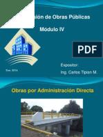 Alcances de Obras Por Administracion Directa