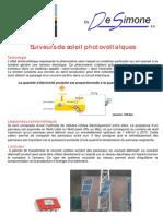 Information Suiveurs de Soleil A4