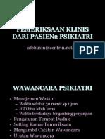 Fk Untar Kuliah Ke-2 Px Klinis Psikiatri