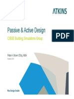 Passive and Active Design - 121010