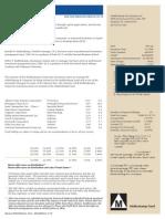 Muhlenkamp Fund Q4 Investor Conference Call Transcript