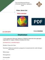 Génie sismique GC  ENSAO 2013-2014