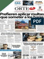 Periódico Norte edición impresa día 27 de febrero 2014
