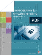 Cryptography and Network Security - Assignment No. 02
