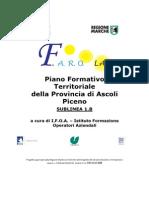 Piano Formativo Ascoli