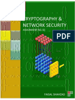 Cryptography and Network Security - Assignment No. 03