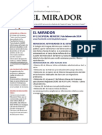 El Mirador 115 Reinicio 2014