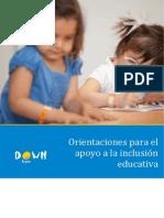 Orientaciones para la Inclusión Educativa