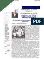 autobiografia missionario david miranda ipda
