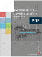 Cryptography and Network Security - Assignment No. 06
