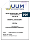 individual assignment (SQIT 3013) -group A