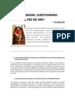 Entrevista a Ricardo Badini