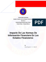 Impacto De Las Normas De Información Financiera En Los Estados Financieros.doc
