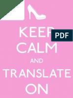 Keep Calm Translate