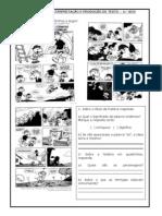 ATIVIDADES de interpretação e produção de texto - 4º ano