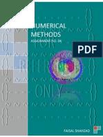 Numerical Methods - Assignment No. 04