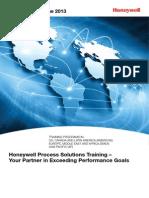 2013 Global Hps Training Catalogue