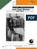 Power Dart Blower 220v