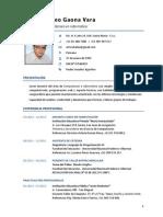 CV Arturo Gaona 2014-A