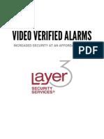 Video Verified Alarms