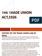 Trade Union Act Ppt