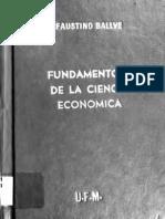 Ballve_Fundamentos de La Ciencia Economica