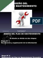 Diseño plan de mantenimiento