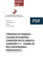 PÉRDIDAS DE ENERGIA