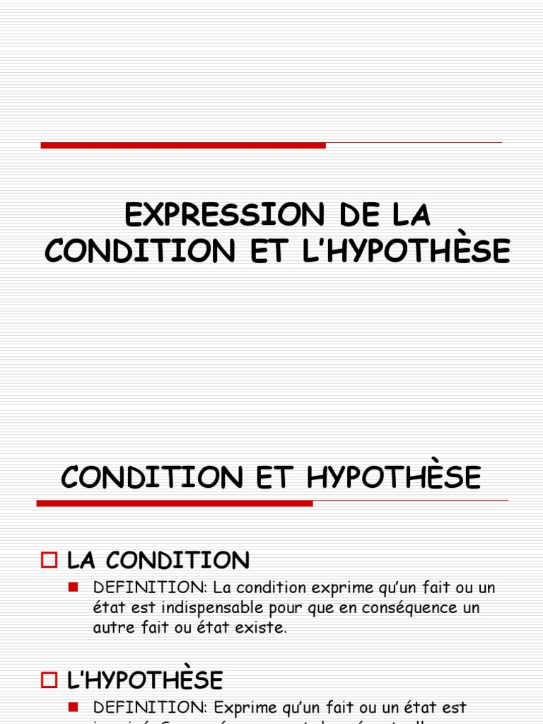 Definition hypothese fahren zur arbeit